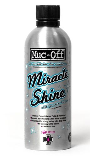 Cera Polimento Muc-Off Miracle Shine