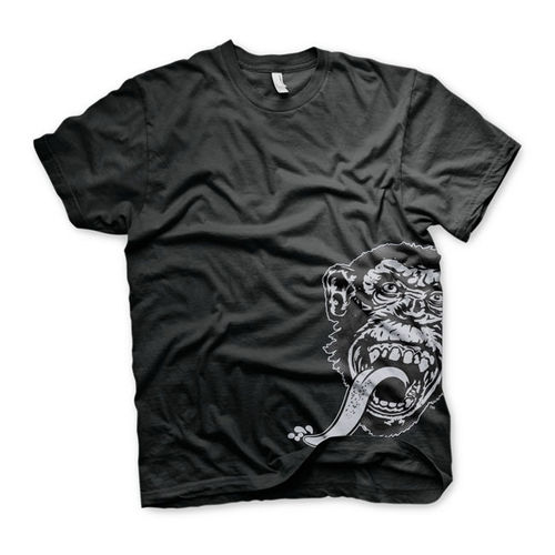 T-Shirt Gas Monkey Sidekick Preta