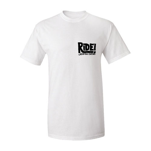 T-Shirt John Doe Ride Branca