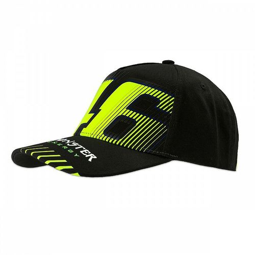 Boné VR46 Monster Preto