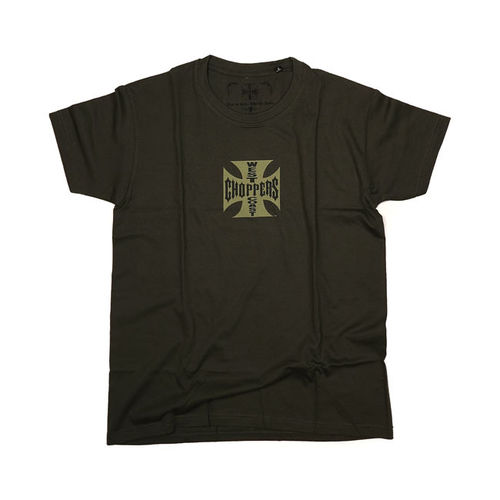 T-Shirt WCC Khaki Maltese Cross