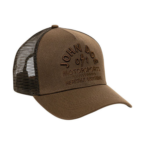 Boné John Doe Trucker Heritage Brown